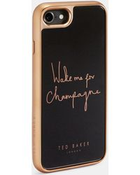 Ted Baker 'wake Me For Champagne' Iphone 6/6s/7/8 Case