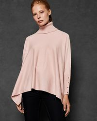 Ted Baker - Rallphy Poncho - Lyst