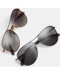 Ted Baker - Pilot Sunglasses - Lyst