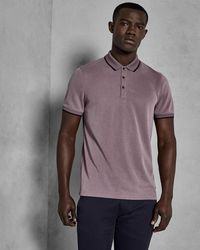 Ted Baker - Oxford Polo Shirt - Lyst