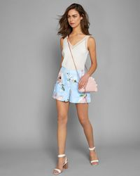 Ted Baker - Harmony Bow Detail Shorts - Lyst