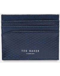 Ted Baker - Spot Embossed Leather Cardholder - Lyst