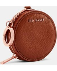 Ted Baker - Circle Leather Mini Ring Bag - Lyst