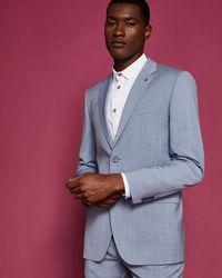 Ted Baker - Debonair Slim Wool Jacket - Lyst