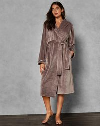 Ted Baker Hooded Long Dressing Gown