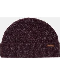 0b04d4e4965 Ted Baker Ribbed Beanie Hat in Blue for Men - Lyst