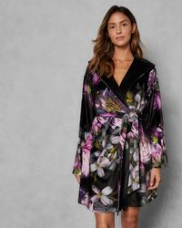 Ted Baker - Sunlit Floral Dressing Gown - Lyst