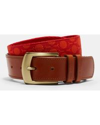 Ted Baker | Patterned Webbing Golf Belt | Lyst
