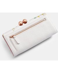 Ted Baker Elegant Leather Bobble Matinee Purse