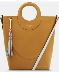 Ted Baker - Leather Shopper Bag - Lyst