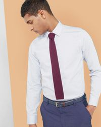 Ted Baker - Dotted Design Shirt - Lyst