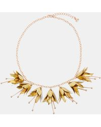 Ted Baker - Fuchsia Drop Necklace - Lyst