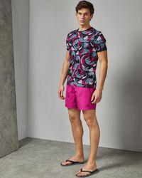 Ted Baker Plain Swim Shorts With Pocket
