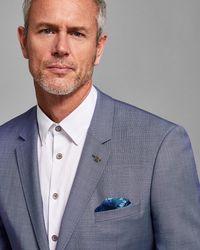 Ted Baker - Debonair Plain Wool Suit Jacket - Lyst