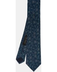 Ted Baker - Floral Silk Tie - Lyst