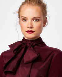 Ted Baker - Cashmere And Silk-blend Jumper - Lyst