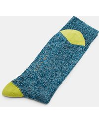 Ted Baker - Textured Organic Cotton-blend Socks - Lyst