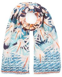 Temperley London - Cacti Printed Scarf - Lyst