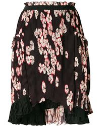 Isabel Marant - Floral-print Pleated Skirt - Lyst