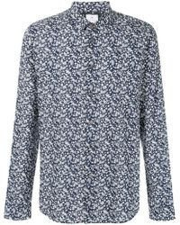 Paul Smith - Printed Cotton Shirt - Lyst