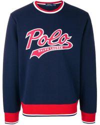 Polo Ralph Lauren - Cotton Sweatershirt - Lyst