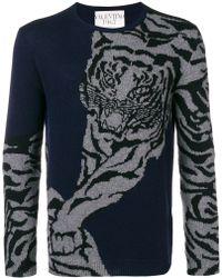 Valentino - Tiger Re Edition Print Jumper - Lyst