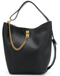 Givenchy - Gv Bucket Leather Bag - Lyst