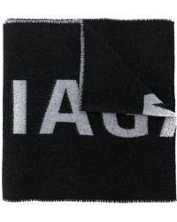 Balenciaga - Logo Scarf - Lyst