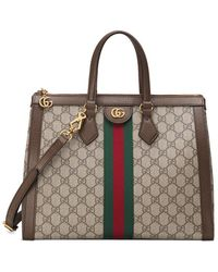 Gucci - Ophidia Shopping Tote - Lyst