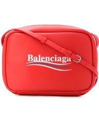 Balenciaga - Everyday S Camera Bag With Campaign Logo - Lyst
