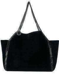 Stella McCartney - Falabella Reversible Cotton Tote Bag - Lyst