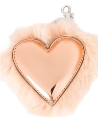 Stella McCartney - Heart Keychain - Lyst