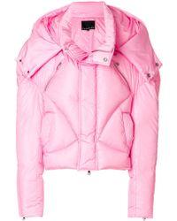 Chen Peng - Oversized Puffer Down Jacket - Lyst