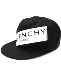 Lyst - Givenchy Embroidered Logo Cap in Black for Men 9f635c53f238