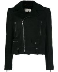 Saint Laurent - Biker Jacket - Lyst