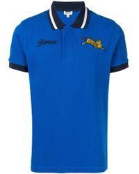KENZO - Tiger Print Cotton T-shirt - Lyst