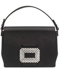Roger Vivier | Square Evening Bag With Chain | Lyst