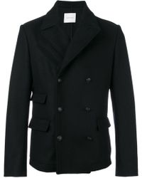 Balmain - Double-breasted Wool Jacket - Lyst