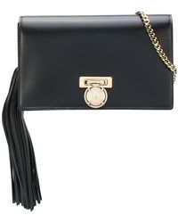 Balmain - Leather Mini Clutch - Lyst