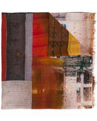 Faliero Sarti - Cashmere Printed Stole - Lyst