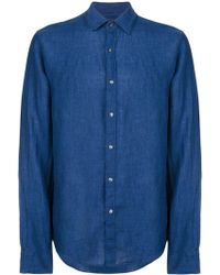 MICHAEL Michael Kors - Slim Fit Shirt Linen - Lyst