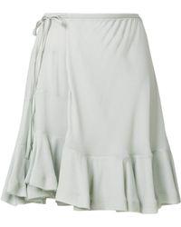 Chloé - Viscose Skirt - Lyst