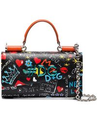 Dolce & Gabbana - Printed Cross-body Bag - Lyst