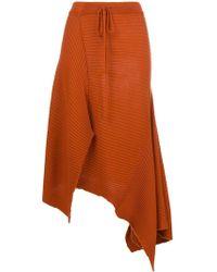 Marques'Almeida - Asymmetric A-line Skirt - Lyst