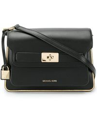 8d08986b90cc MICHAEL Michael Kors - Tatiana Large Leather Shoulder Bag - Lyst