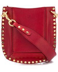 Isabel Marant - Nasko Leather Shoulder Bag - Lyst