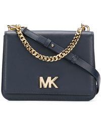 MICHAEL Michael Kors - Mott Large Leather Shoulder Bag - Lyst