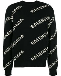 Balenciaga - Wool Jumper - Lyst