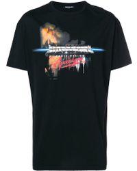 Balmain - Logo Print Oversized T-shirt - Lyst