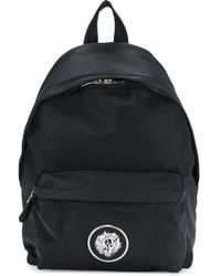 Versus - Nylon Backpack With Calf Leather Details - Lyst